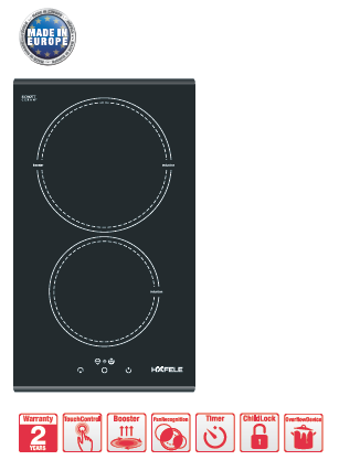 Induction Hob HC-I302B