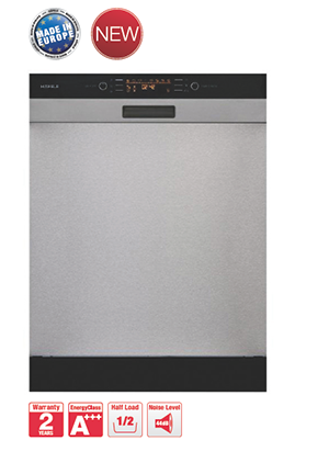 Semi-integrated Dishwasher HDW-HI60B